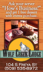 Wolf Lodge Steakhouse Spokane